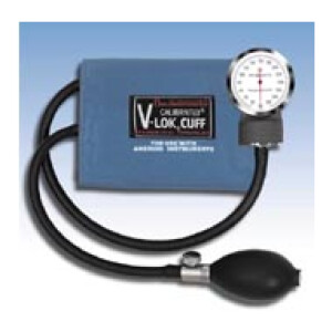 Complete Sphygmomanometer with Aneroid Gauge