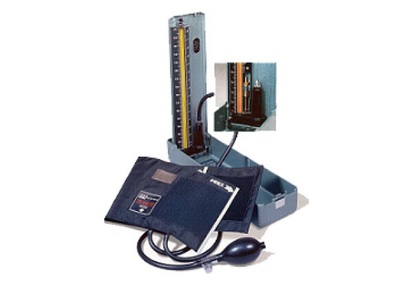 Deluxe Desk Mercurial Sphygmomanometer