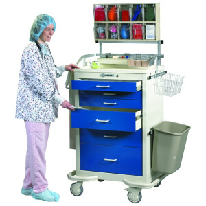 Anesthesia Cart with Ultimate Accessory Package