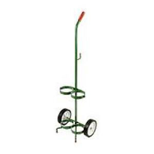 Dual D & E Size Cylinder Cart