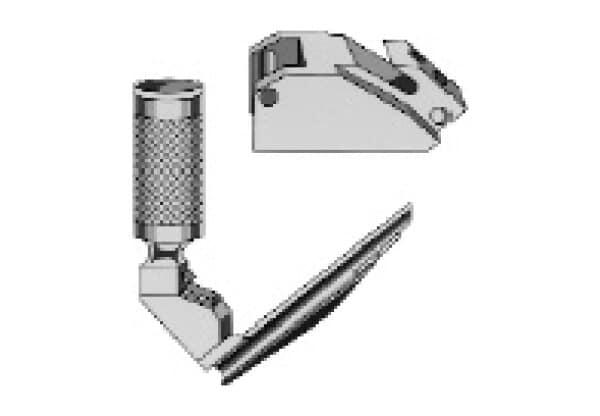 Howland Lock for Fiberoptic Handles